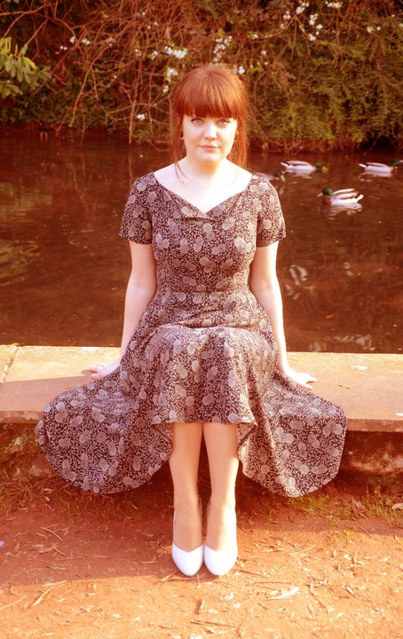 40s syle tea dress Devon