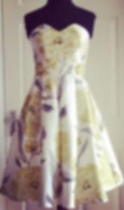 Bespoke 1950's bridesmaid dress