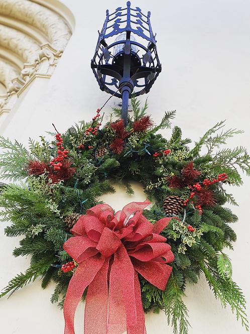 Wreaths [mixed, holiday ribbon]