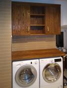 masiv - koupelna s prádelním koutem a sk