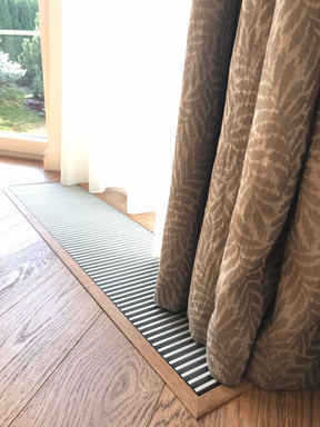 dubová podlaha rustik a olištování radia
