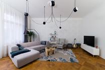 obývací pokoj - Flos, Artemide, Brokis.j