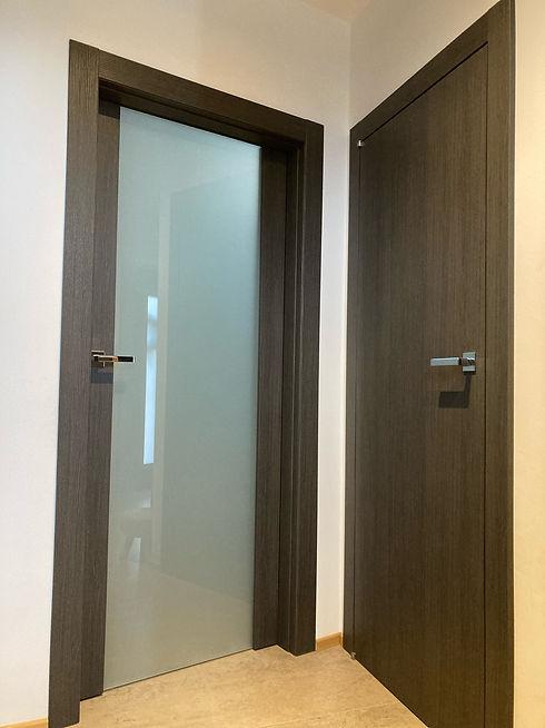 černohnědé dveře z předsíně.jpg