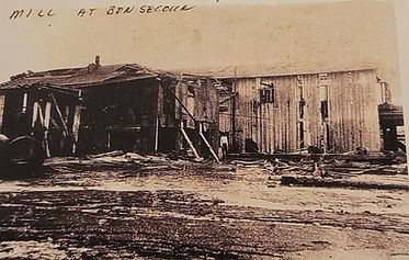 Mill at Bon Secour after 1906 Hurricane