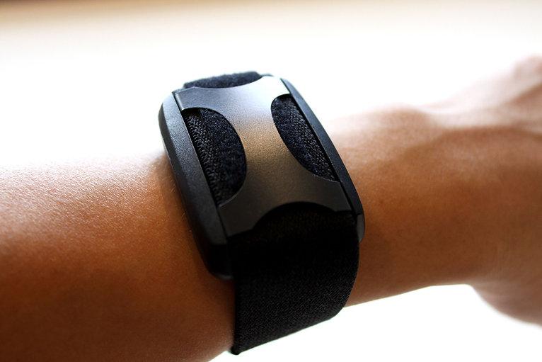 Apollo Neuro comfortably worn on wrist