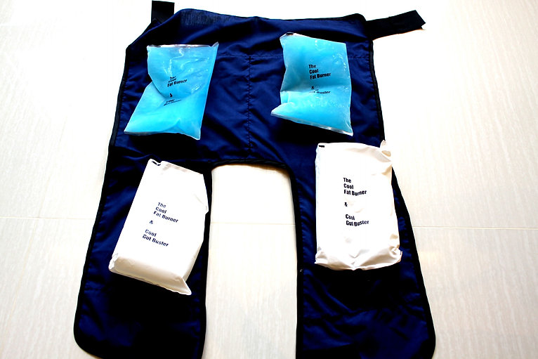Cool Fat Burner with Hybrid and Soft Ice Packs