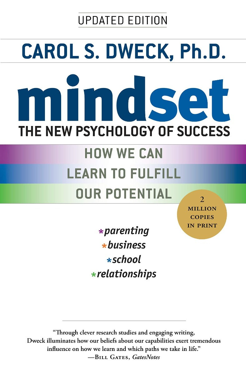 Mindset: The New Psychology of Success by CAROL DWECK, 2007