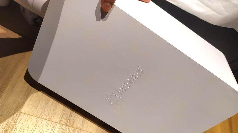 Sleek and Decorative BedJet v3 Device
