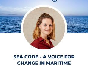 Maritime SheEO features Seacode