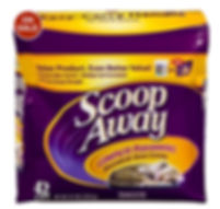 scoop away cat litter