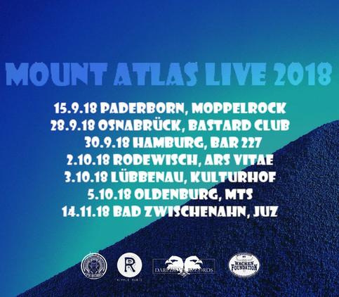 Mount Atlas North German Tour