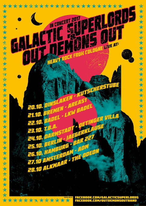 Galactic Superlords on Tour October 2017