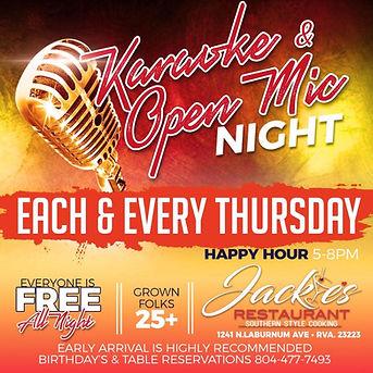 jackies karaoke 4.20.JPG