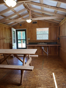 Picnic Table with Kitchenette
