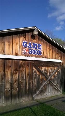gaemroom sign