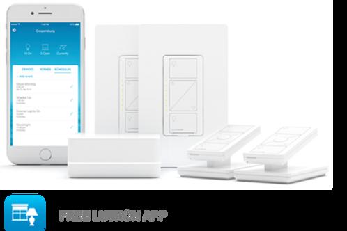 Caséta - Smart Lighting Dimmer Switch (2 count) Starter Kit - More Control