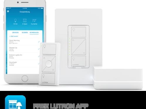 Caséta - Smart Lighting Dimmer Switch Starter Kit