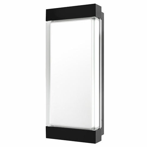 Smartika - Profile Indoor/Outdoor Mate Black Wall Light