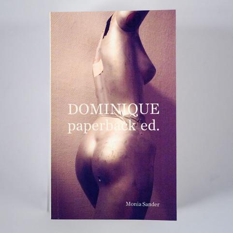 MONIA SANDER: Dominique paperback ed.
