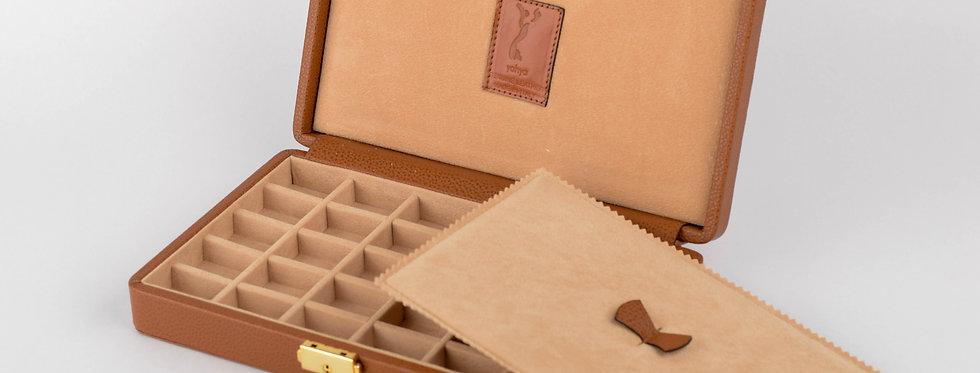 Cufflinks Leather Box