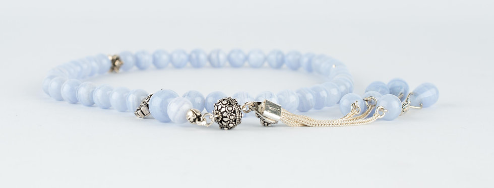 Sky Blue Gemstone Beads