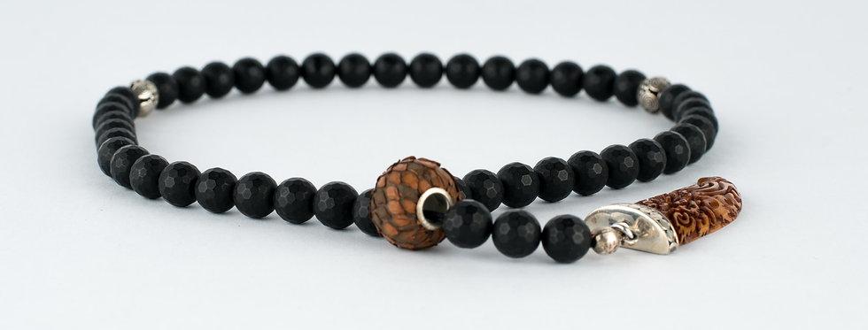 Wood and Gemstone Beads