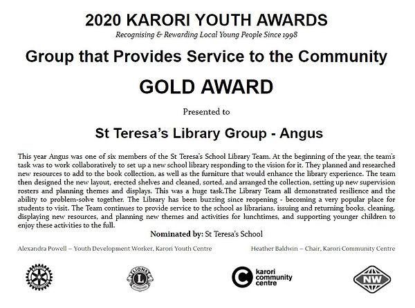 St Teresa's - Angus Gold.JPG