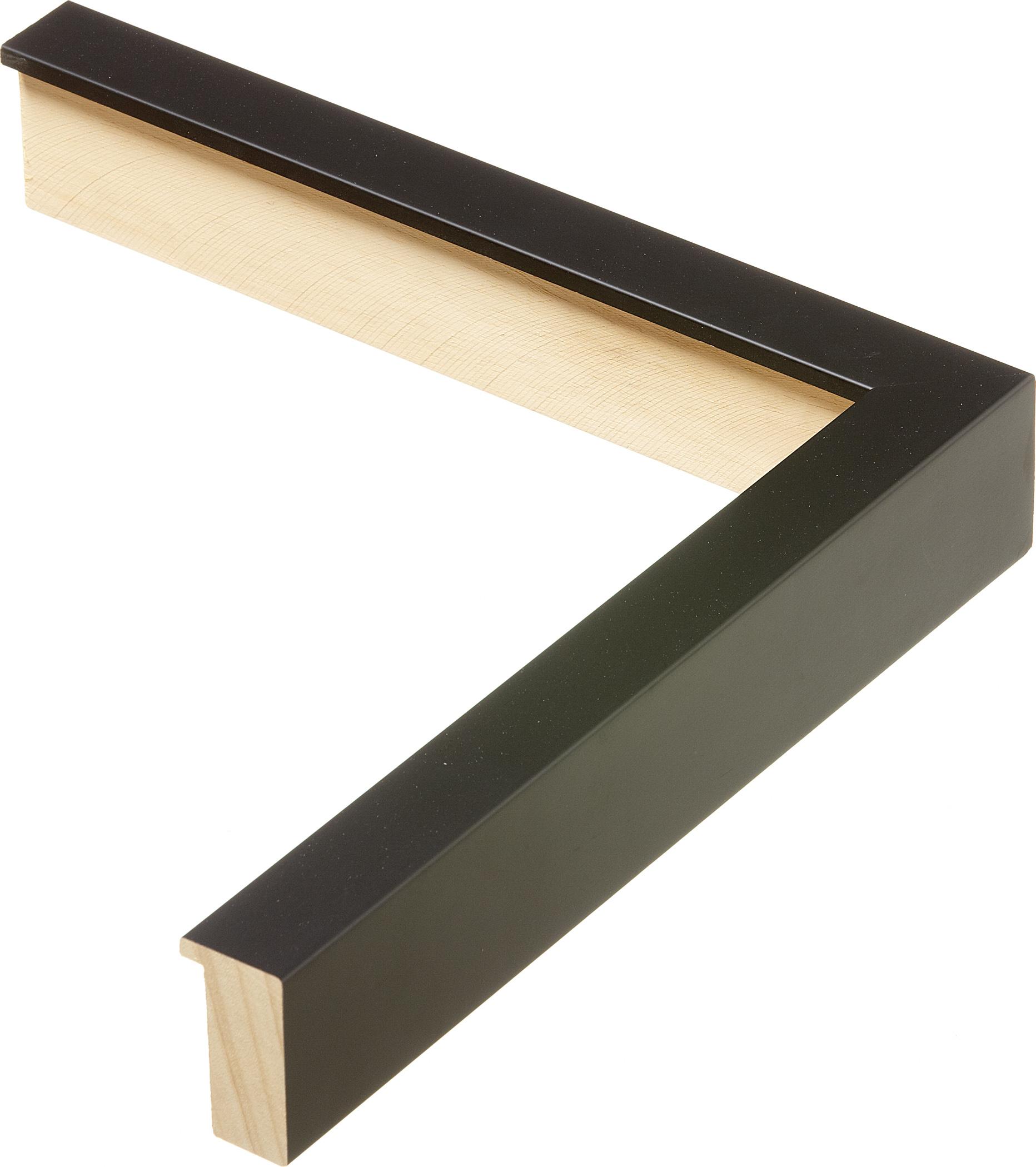 Italian Black Wood Jersey Frame