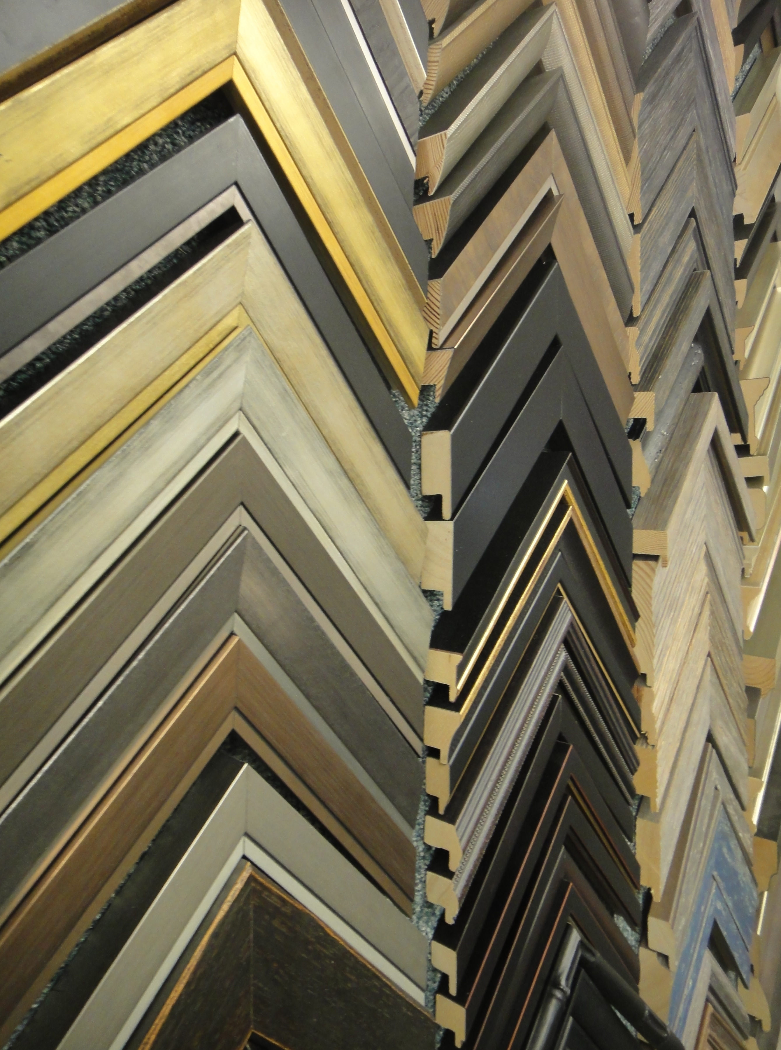 Wall display of Art Frames