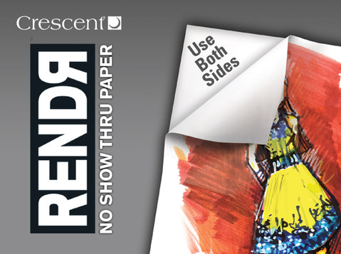 Introducing RENDR No Show Thru Paper