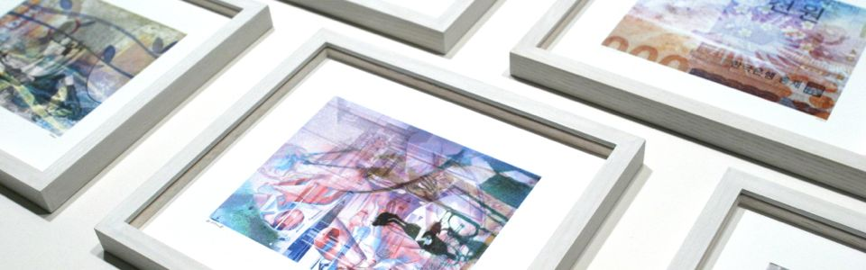 Framing antique objects