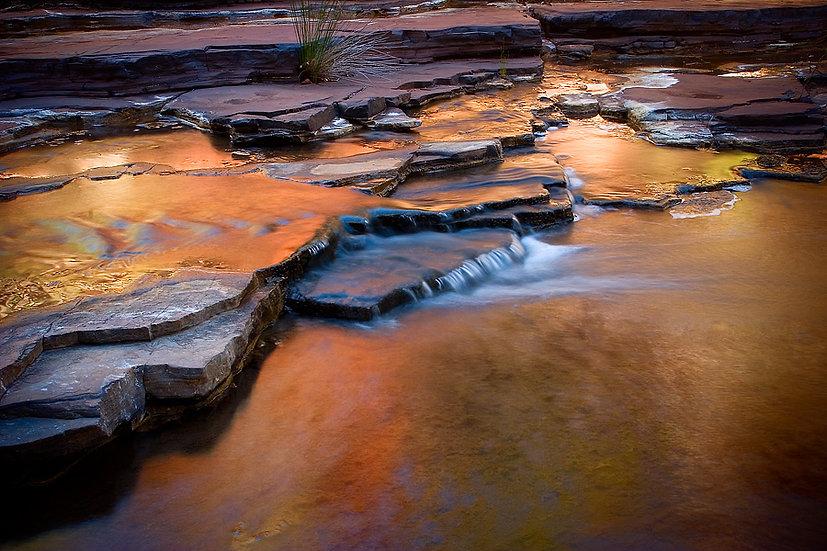 Waterfall, Karijini National Park, Pilbara, Western Australia