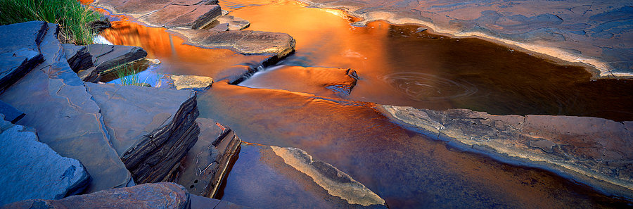 Gorge reflections, Karijini National Park, Pilbara, North Western Australia