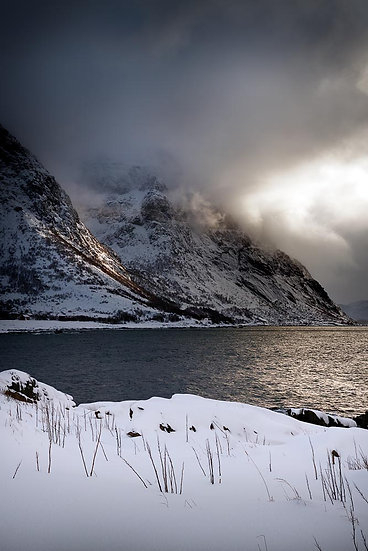 Snow Covered Mountains, Norway
