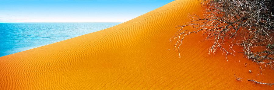 Sand Dunes, Monkey Mia, North Western Australia