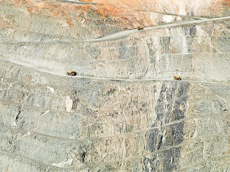 Super Pit, Gold mine, Kalgoorlie, Western Australia