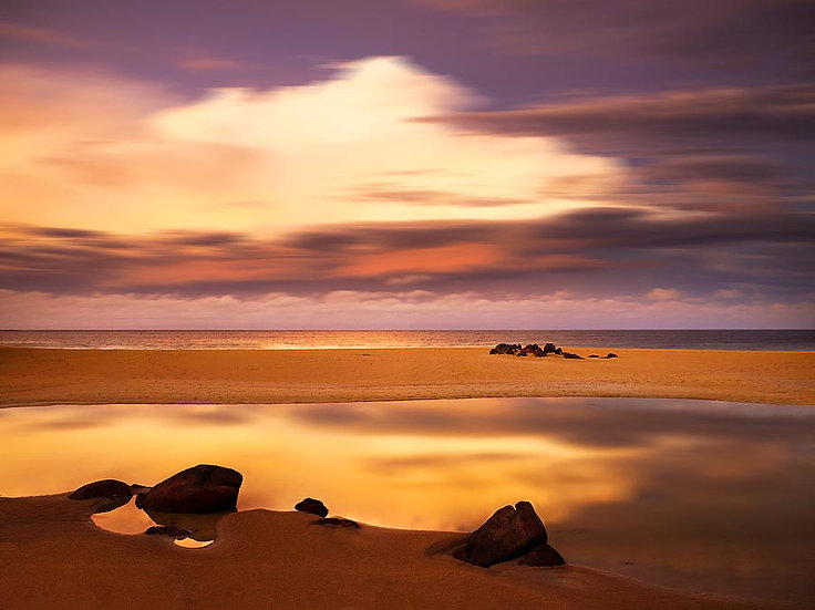 Sunset on Wyadup Beach, South Western Australia