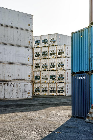 Tauranga, New Zealand, Shipping Containers