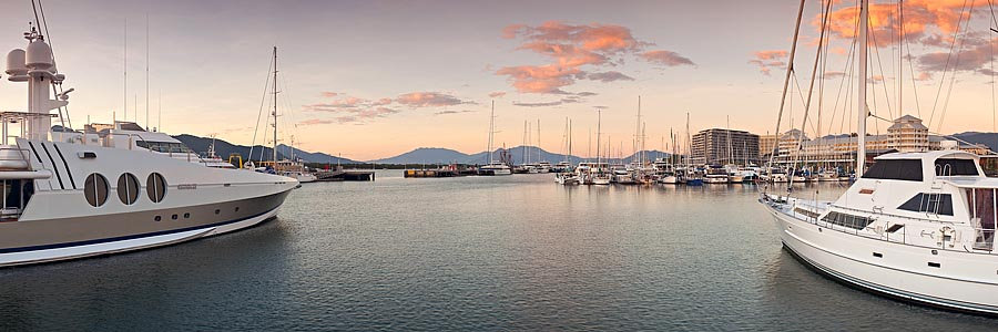 Yacht Club, Cairns, Queensland, Australia