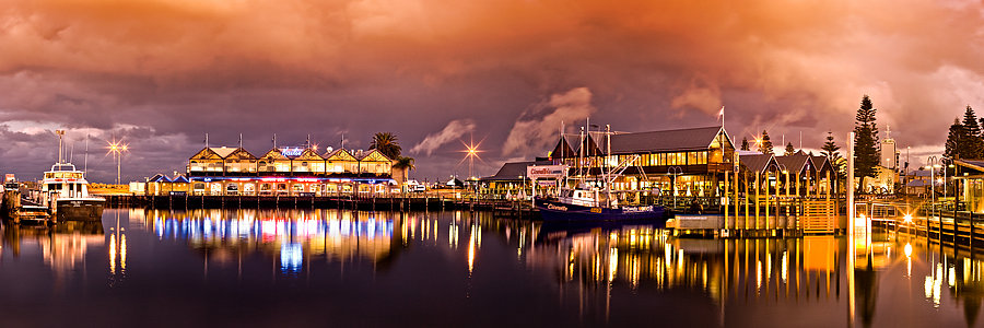 Fremantle fishing boat harbour, Western Australia