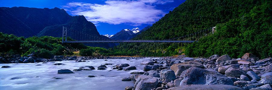 Fox Glacier Bridge, New Zealand