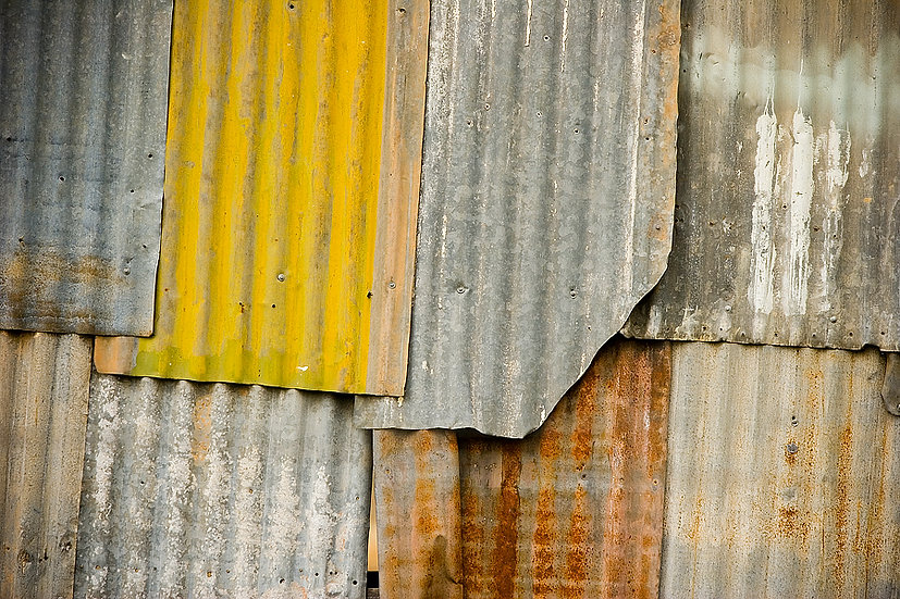 Corrugated Iron Shed