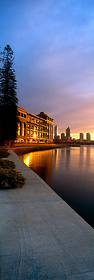 Old Swan Brewery on the Swan River in Perth, Western Australia