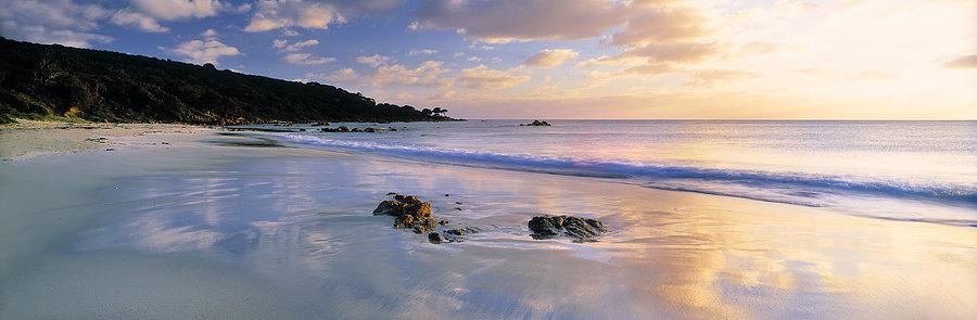 Bunker Bay beach, Geographe Bay, Cape Naturaliste, South Western Australia