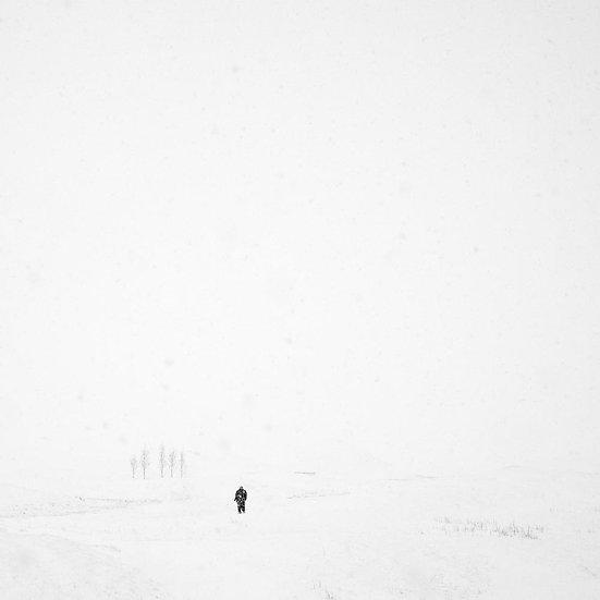 Snow Storm Iceland
