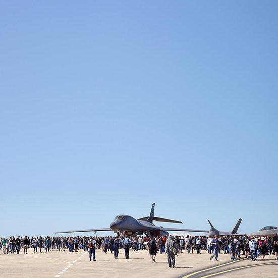 B1B Bomber Plane,  Avalon Air Show, Victoria