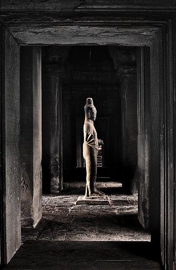 Buddha Statue, Angkor Wat, Siem Reap, Cambodia
