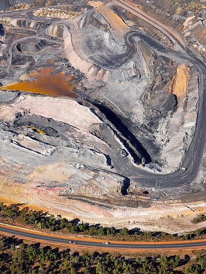 Coal Mine, Collie, South West Australia