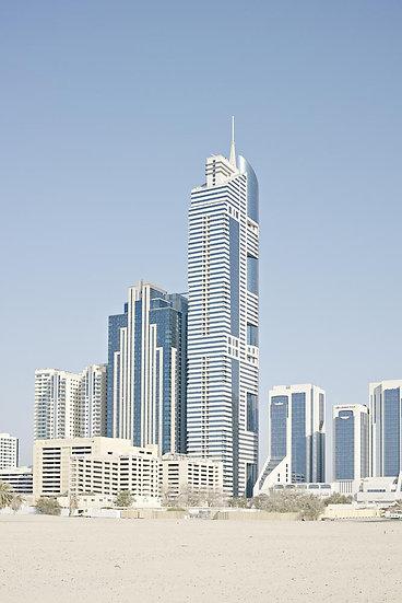 City skyscrapers, Dubai, United Arab Emirates