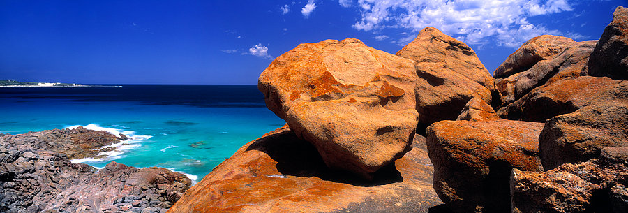 Granite boulders, Injidup Beach, South Western Australia
